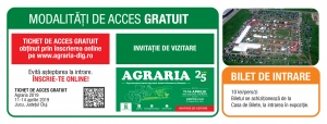 Acces Vizitatori AGRARIA 2019