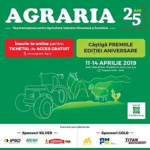 Premiile aniversare AGRARIA 25 de ani